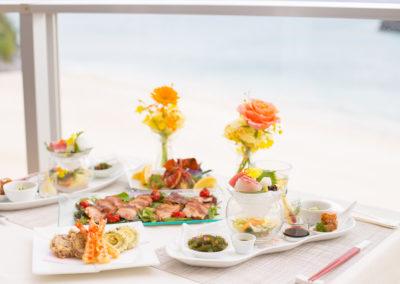 沖繩艾妮絲教堂EINES VILLA DE NOZZE OKINAWA教堂宴會餐