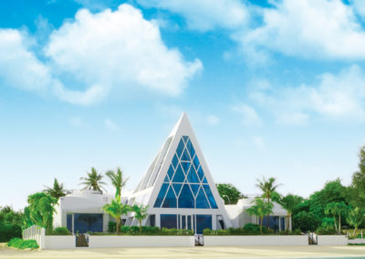 關島幸福藍星教堂 BLUE ASTER CHAPEL