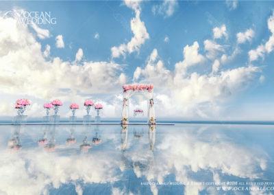 峇里島天空之鏡婚禮 OCEAN SKY WATER WEDDING
