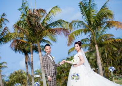 沖繩藍色海洋教堂又有新人回來分享了