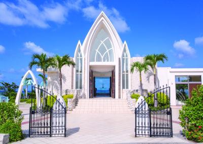 沖繩艾葵雅教堂 AQUA GRACE CHAPEL 2020年全新佈置