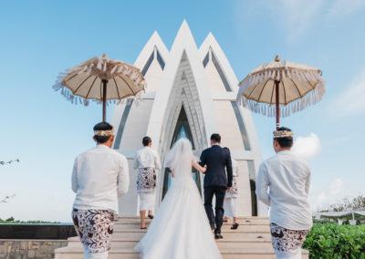 巴里島麗池卡登海景教堂婚禮