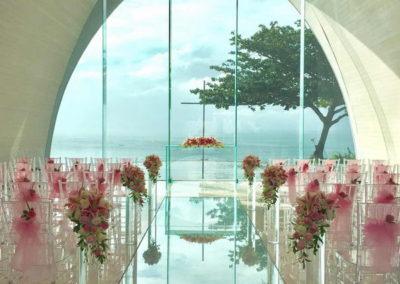 峇里島阿雅娜爵士娜教堂可選的佈置