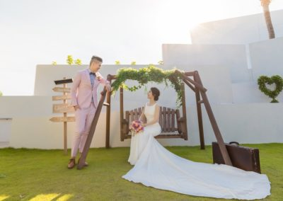 沖繩艾妮絲教堂甜蜜新人-Jed & Verna