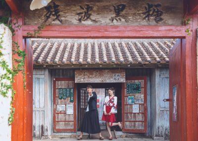 體驗王國村~最適合琉服或浴衣的場景